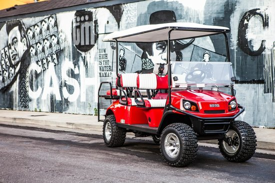 Nashville Tourist Spots; Golf Cart
